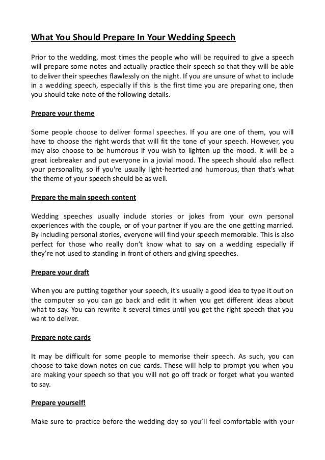 Methods for giving great wedding speeches 4 speech junglespirit Choice Image