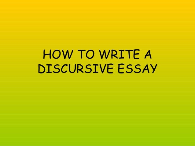discursive essay on facebook Planning a discursive essay the following basic structure should be employed for writing this essay provide an interesting introduction provide a clear indication of your position, your stance.