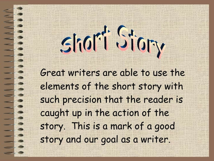 Teaching kids how to write a short story
