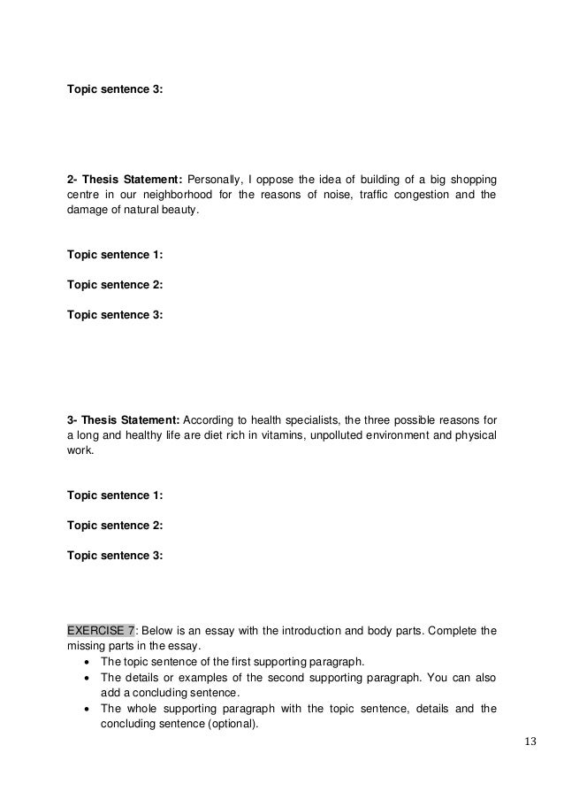 ethics thesis statement examples