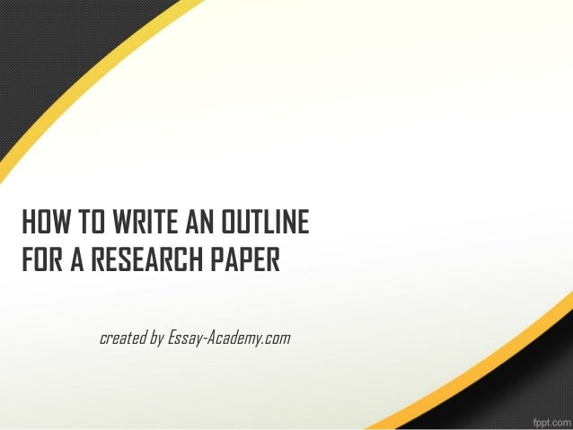 8+ Research Paper Outline Templates -DOC, Excel, PDF