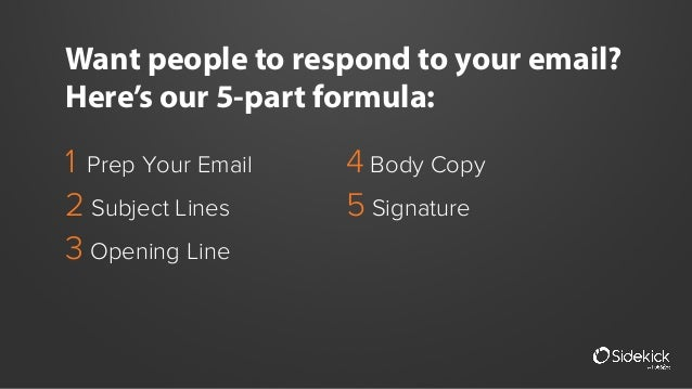 How to Write Emails People WANT to Respond to [Sales Template] Slide 2