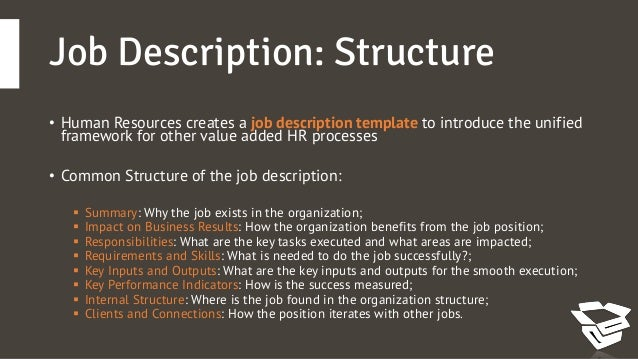 How To Write A Great Job Description