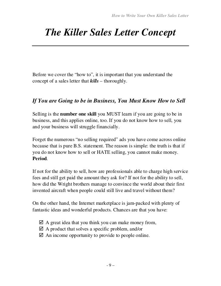 Sample of effective sales letter best sales cover letter for How to write a cover letter for a sales position