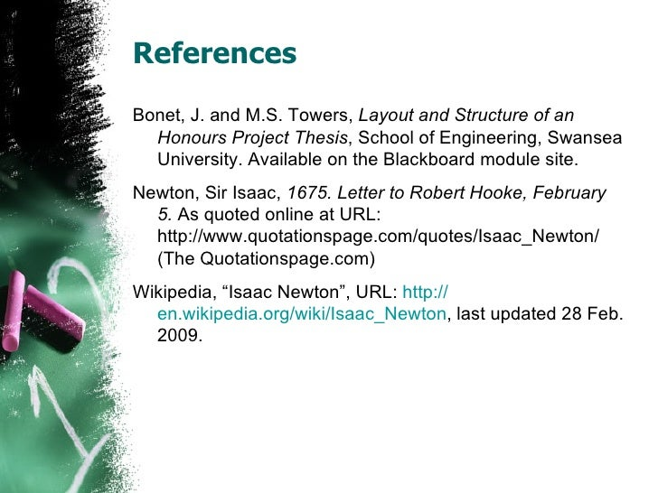 Top Thesis & Dissertation References on the Web