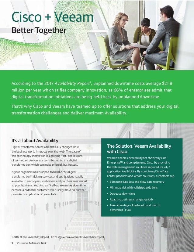 Veeam Cisco Help Customers In The Journey To Digital