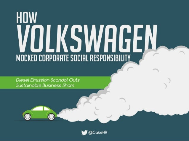How Volkswagen Mocked Corporate Social Responsibility
