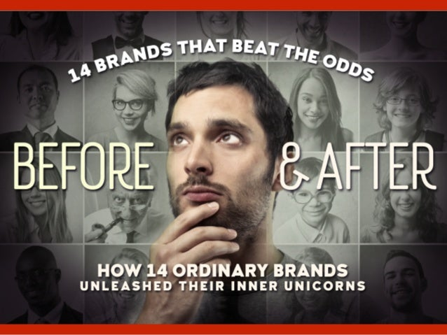 once upon a time, there were 14 brands, leading ordinary lives. by David Brier