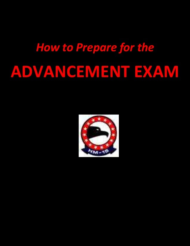 How to Prepare for theADVANCEMENT EXAM