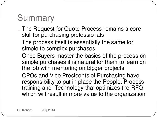 Request For Quote Alluring How 2 Rfq  Managing The Request For Quote Process Is Fundamental Sk…