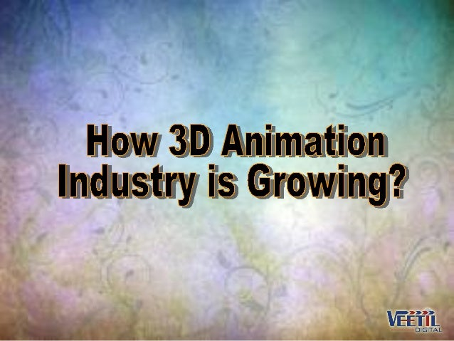 The field of 3D animation has grown tremendously over the years.Early developments in the University of Utah by Ed Sulliva...