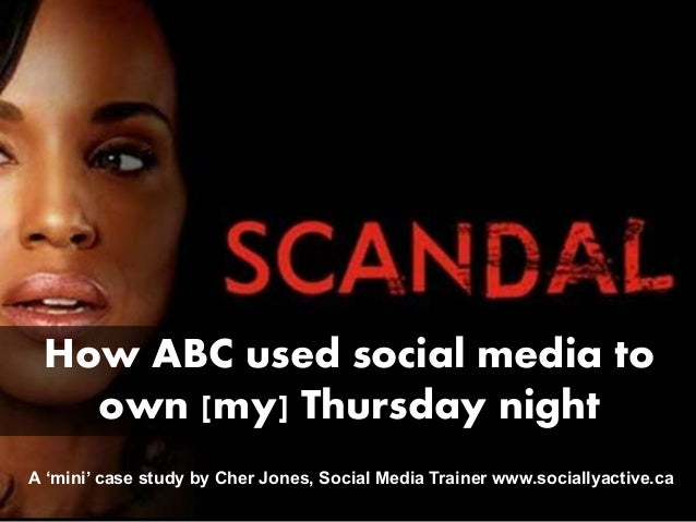 How ABC used social media toown [my] Thursday nightA 'mini' case study by Cher Jones, Social Media Trainer www.sociallyact...