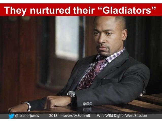 """They nurtured their """"Gladiators"""""""