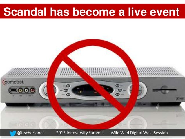 Scandal has become a live eventLIVE EventExperience