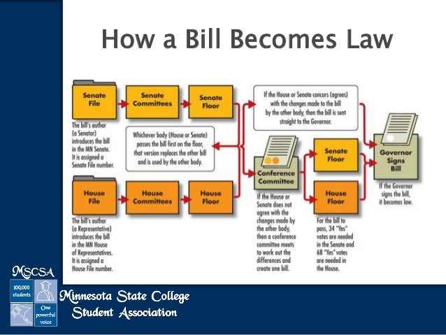 How A Bill Really Becomes Law