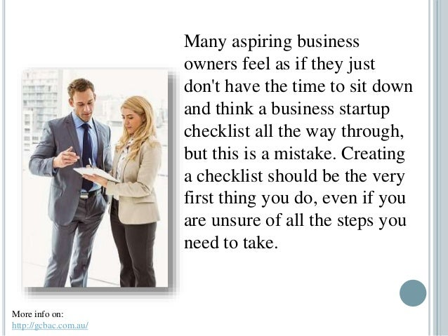 How A Business Startup Checklist Can Help You Get Organized Slide 3