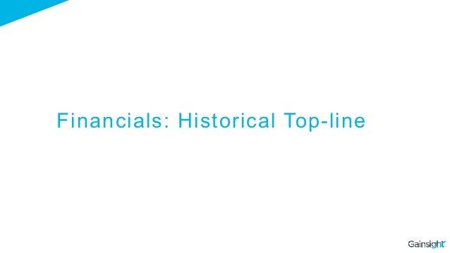 Financials: Historical Top-line