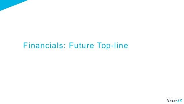 Financials: Future Top-line