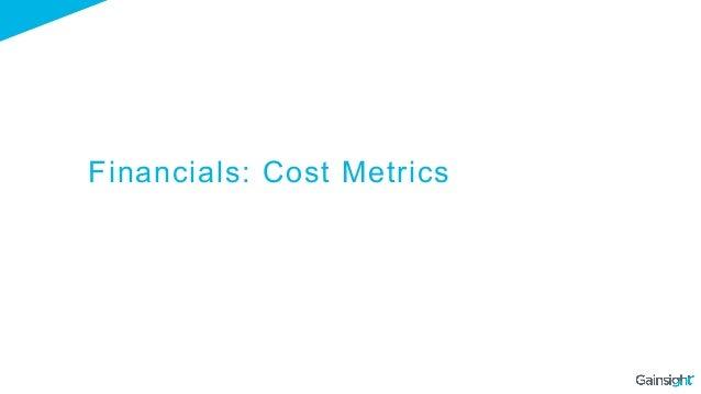 Financials: Cost Metrics