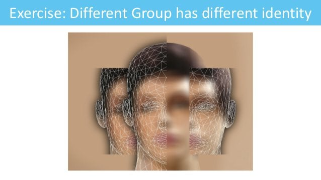 Exercise: Different Group has different identity