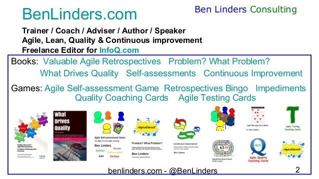 How agile are you - Agile Tour London 2020 - Ben Linders Slide 2