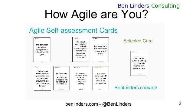 How agile are you - Agile Tour London 2020 - Ben Linders Slide 3