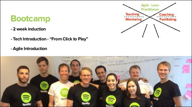 Kristian Lindwall Agile coach team lead lindwall@spotify.com @klindwall  Brendan Marsh Agile coach brendanm@spotify.com @b...
