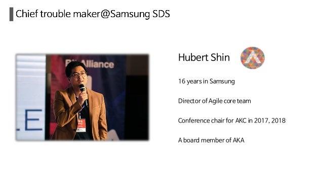 How Agile works in samsung SDS Slide 2