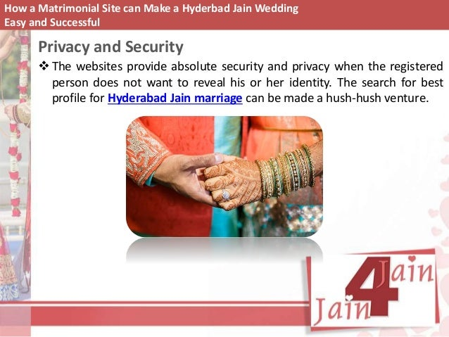 How a matrimonial site can make a hyderbad jain wedding Where can i make a website