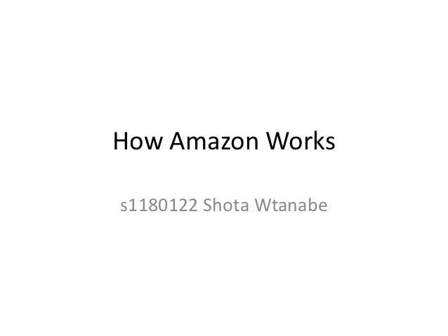 How Amazon Workss1180122 Shota Wtanabe