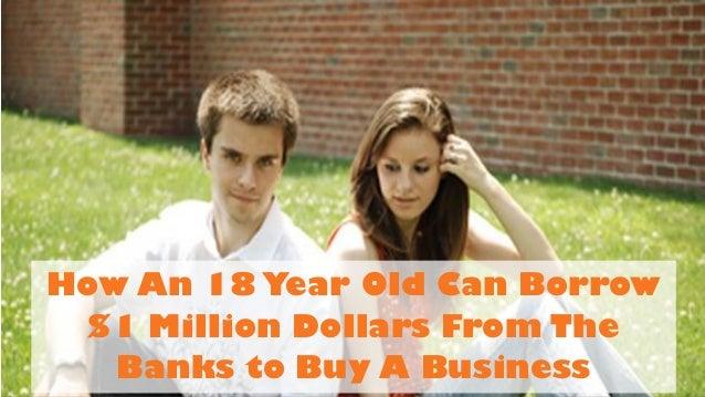 Can  Year Old Borrow For Car Loan