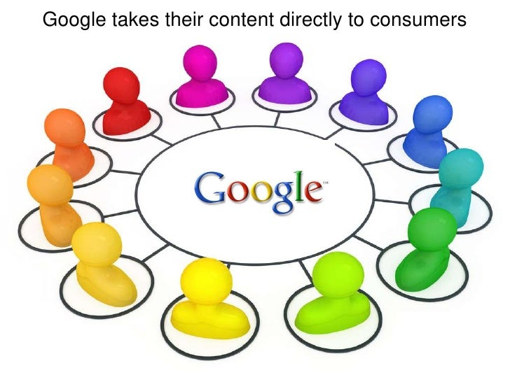 Google takes their content directly to consumers<br />