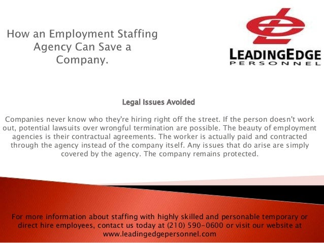 How An Employment Staffing Agency Can Save A Company