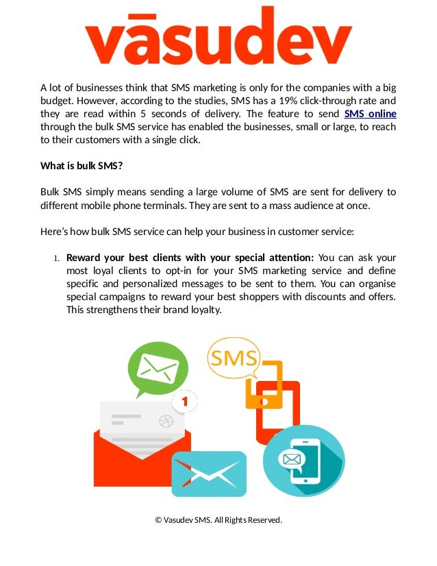 How An SMS Can Keep Your Customer Happy – Send SMS Online