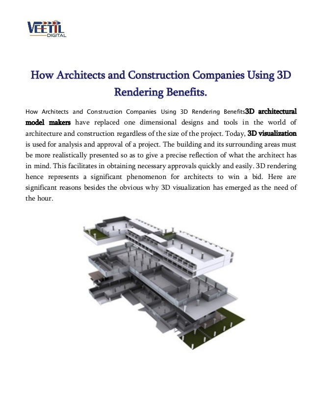 How Architects and Construction Companies Using 3D Rendering Benefits. How Architects and Construction Companies Using 3D ...