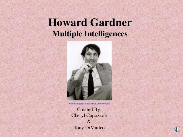 howard gardner educational background