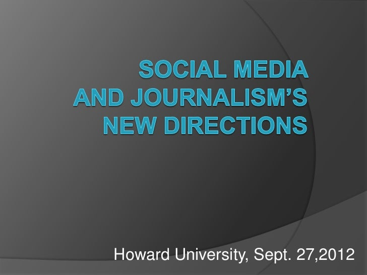 Howard University, Sept. 27,2012