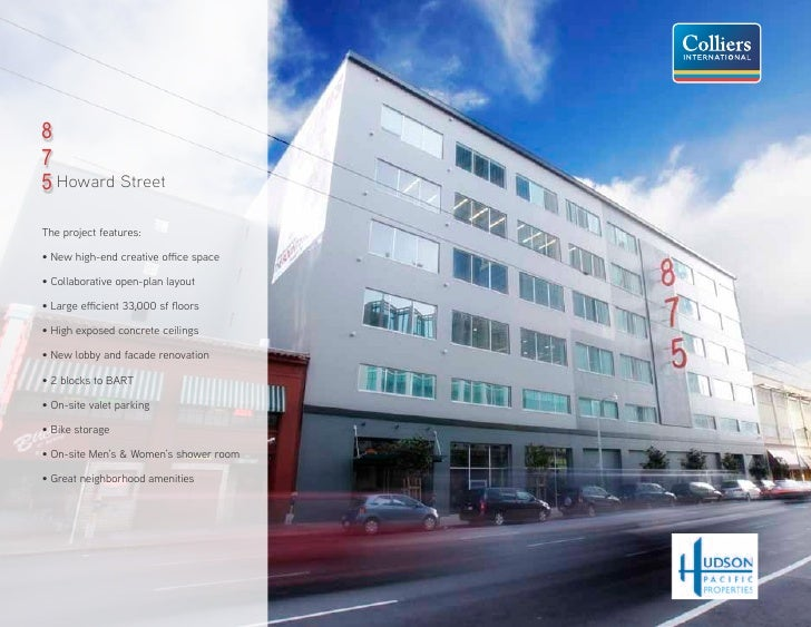 8   8100,000 SF CONTIGUOUS +   7NEW CREATIVE SPACE SPEC SUITE(S)   5 Howard Street                                   7  Th...