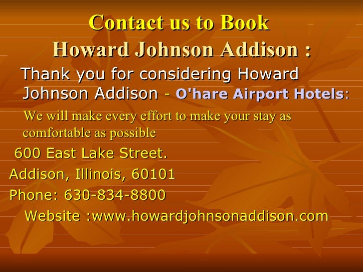 Howard Johnson Hotel Chicago Downtown