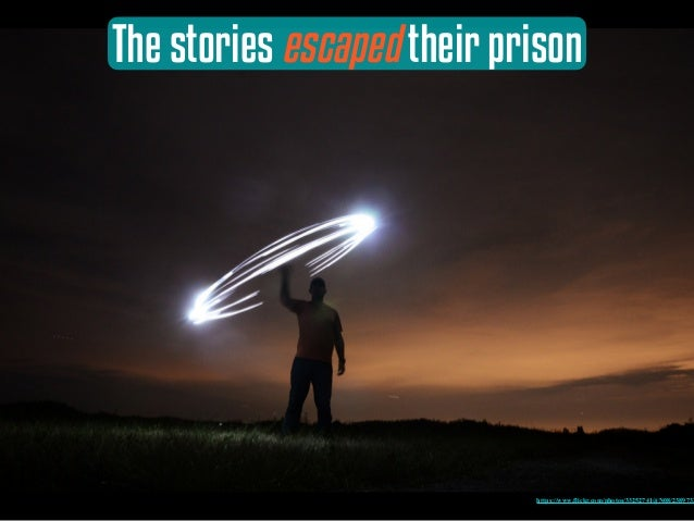 The stories escaped their prison https://www.flickr.com/photos/33252741@N08/2389732