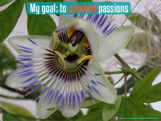 My goal: to combine passions https://www.flickr.com/photos/24660118@N06/2633450105/