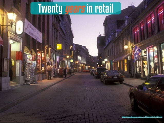 Twenty years in retail https://www.flickr.com/photos/13453262@N03/3340190940/