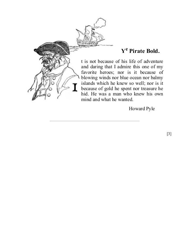 Howard Pyle's Book of Pirates, Free eBook