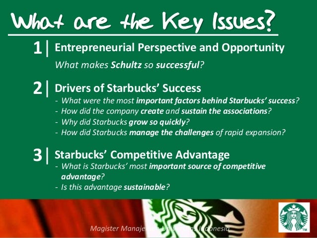 Key success factors for starbucks corporation