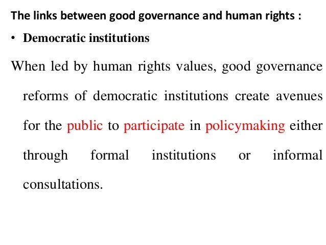 the importance of societal institutions to the good governance of a country I am hopeful about swedenthe reason is that sweden and the rest of the nordic countries score very high in three important concepts for good governance the three concepts are institutions, trust and innovation.
