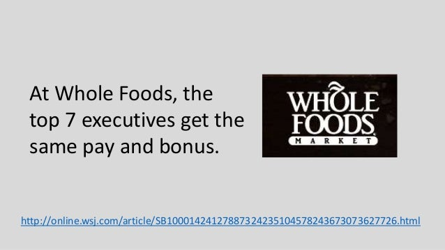 Working For Whole Foods Pay