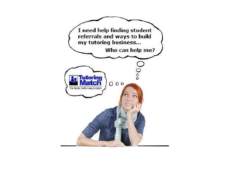 As a Tutoring Match tutor, YOU receive…    •   an online customizable profile    •   in home & online referrals    •   80%...