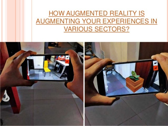 HOW AUGMENTED REALITY IS AUGMENTING YOUR EXPERIENCES IN VARIOUS SECTORS?
