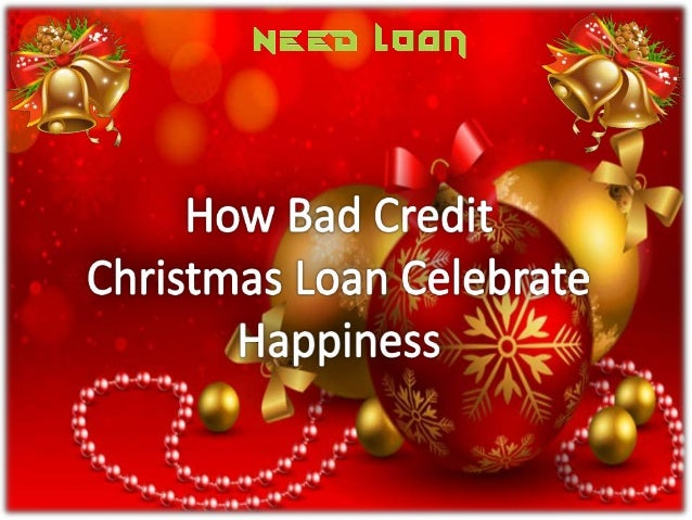 Christmas Loans Low Interest