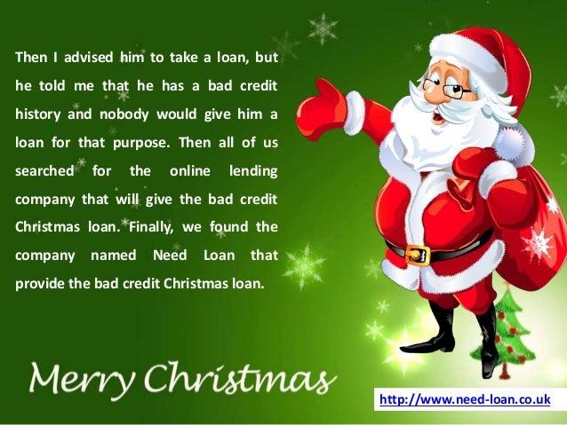 bad credit christmas loan 3 - Christmas Loans For Bad Credit